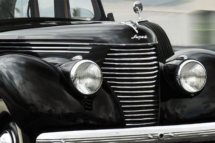 Skoda régi autó